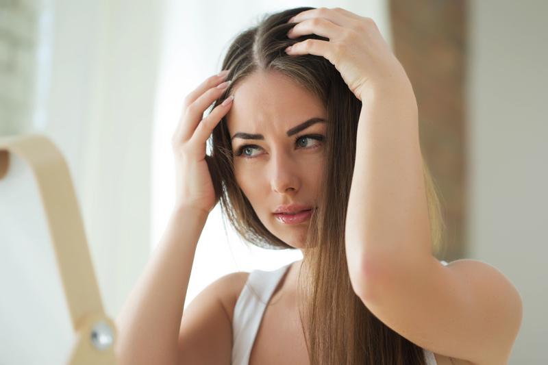 Le cycle de croissance du cheveu